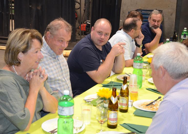Sommerfest Hofstetter AG Stahlbau 2018