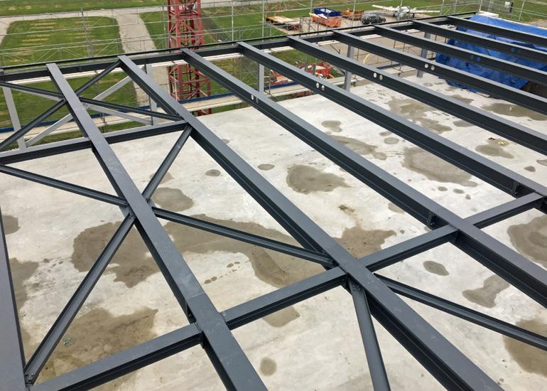 Dachkonstruktion FFA Museum