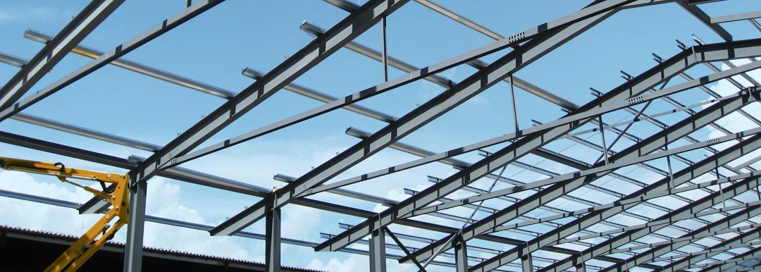 Montage Stahlbau