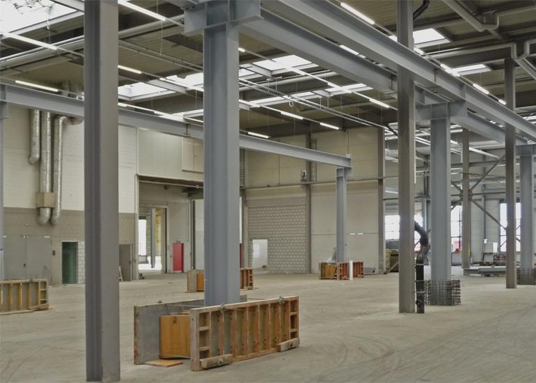 Kranbahnen durch Hofstetter AG Stahlbau